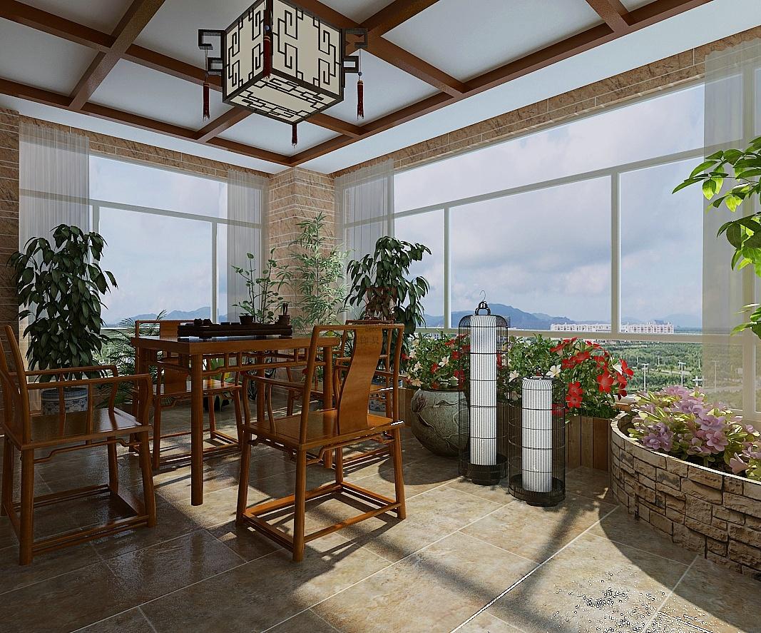 阳台口设计_阳台如何装修更让人舒适安逸—阳台装修效果图|空间|室内设计 ...