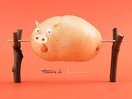 土豆,不土 | POTATO