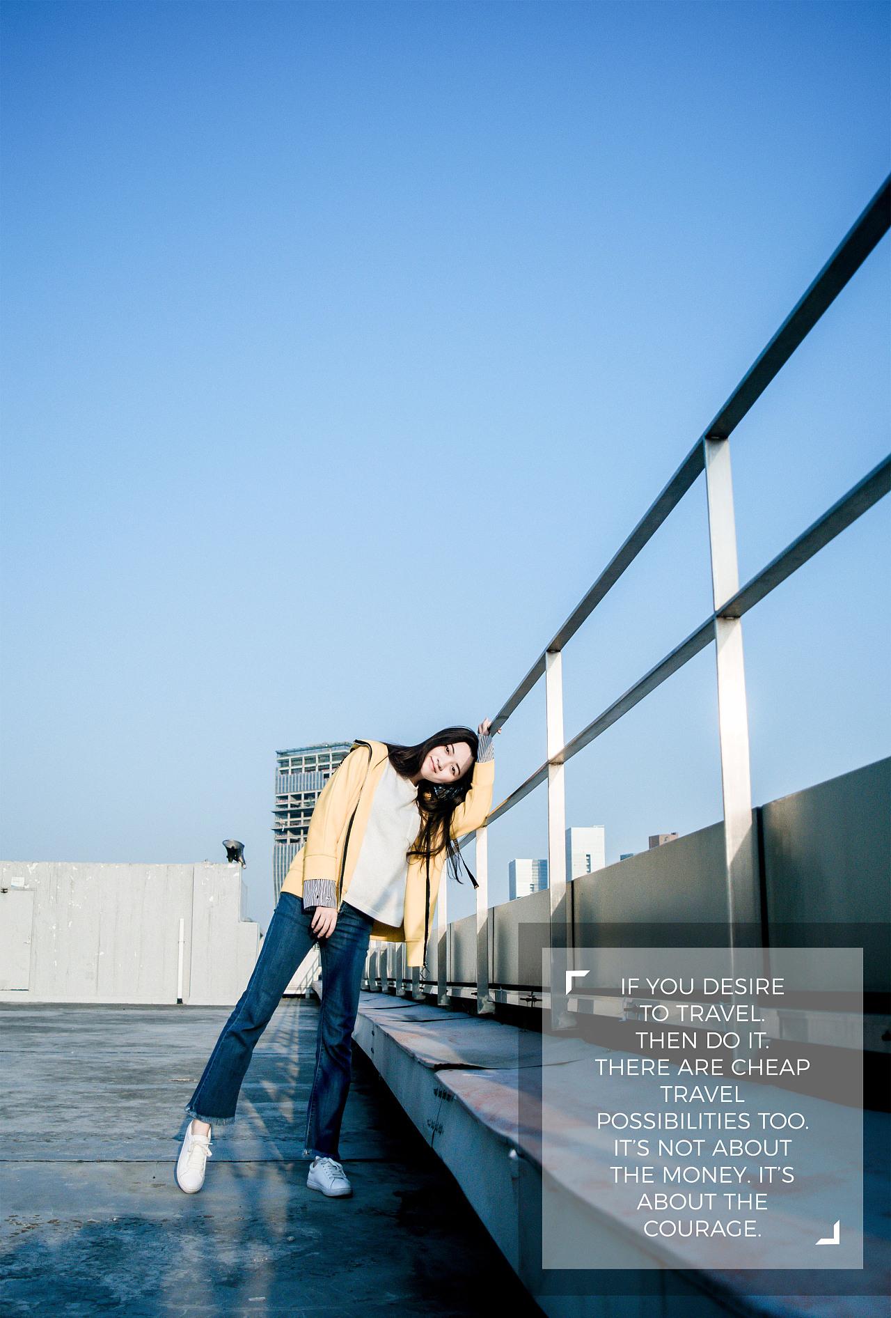 摄于深圳大学文科楼&科技楼 风格:校园活力小