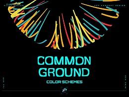 COMMON GROUND COLOR SCHEMES