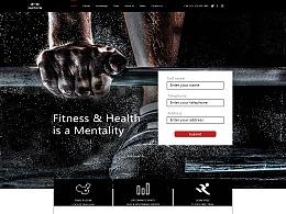 健身房网页设计