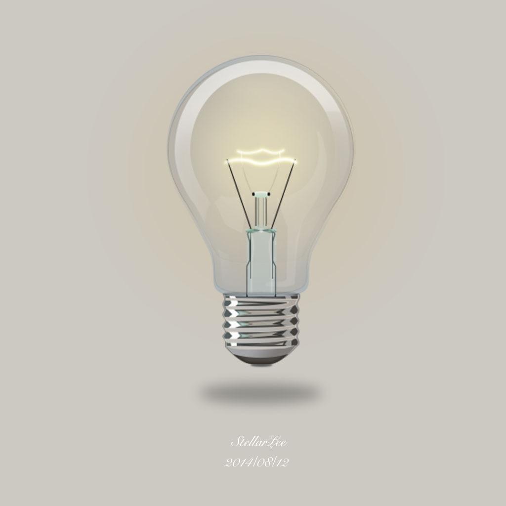 用灯泡做的小制作图片