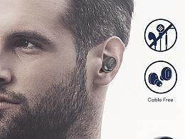 《商务》蓝牙耳机Amazon Listing