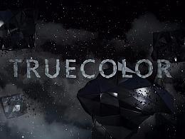 临摹片头《TRUECOLOR》练习