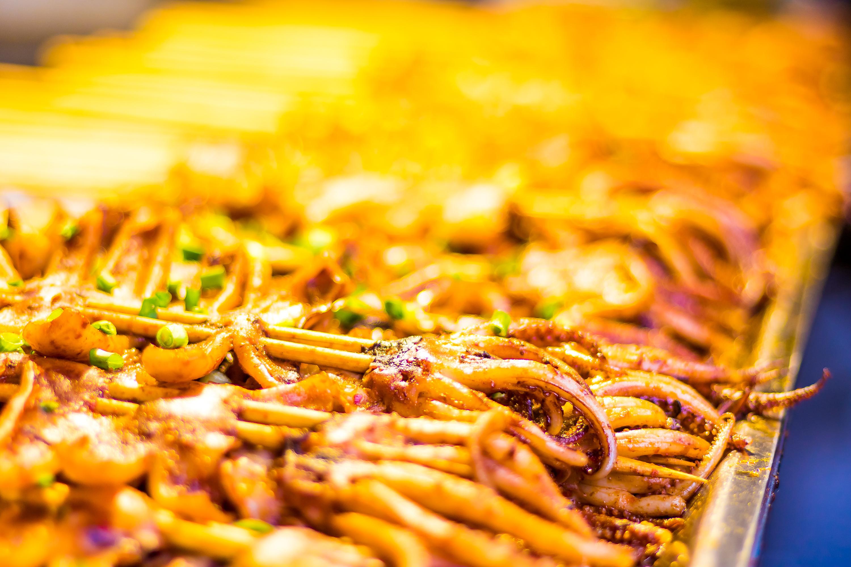 成都锦里的小吃图片