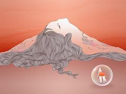 山之女与气泡女
