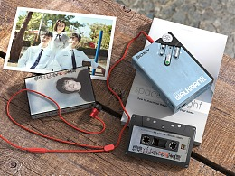 【产品渲染 - SONY Walkman 】