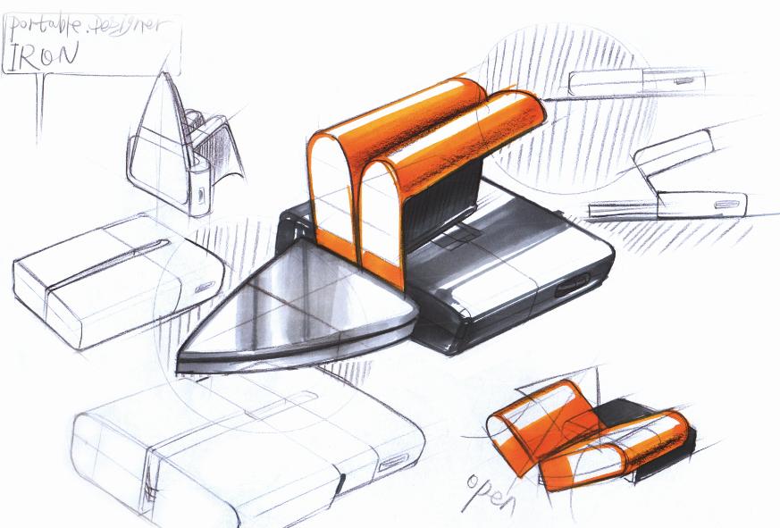工业设计手绘手稿