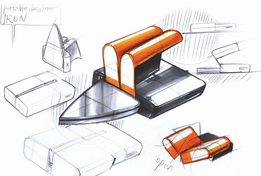 工业设计手绘手稿|工业/产品|其他工业/产品|黄飒carl图片