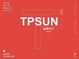 做有温度的新零售 - TPSUN品牌视觉设计