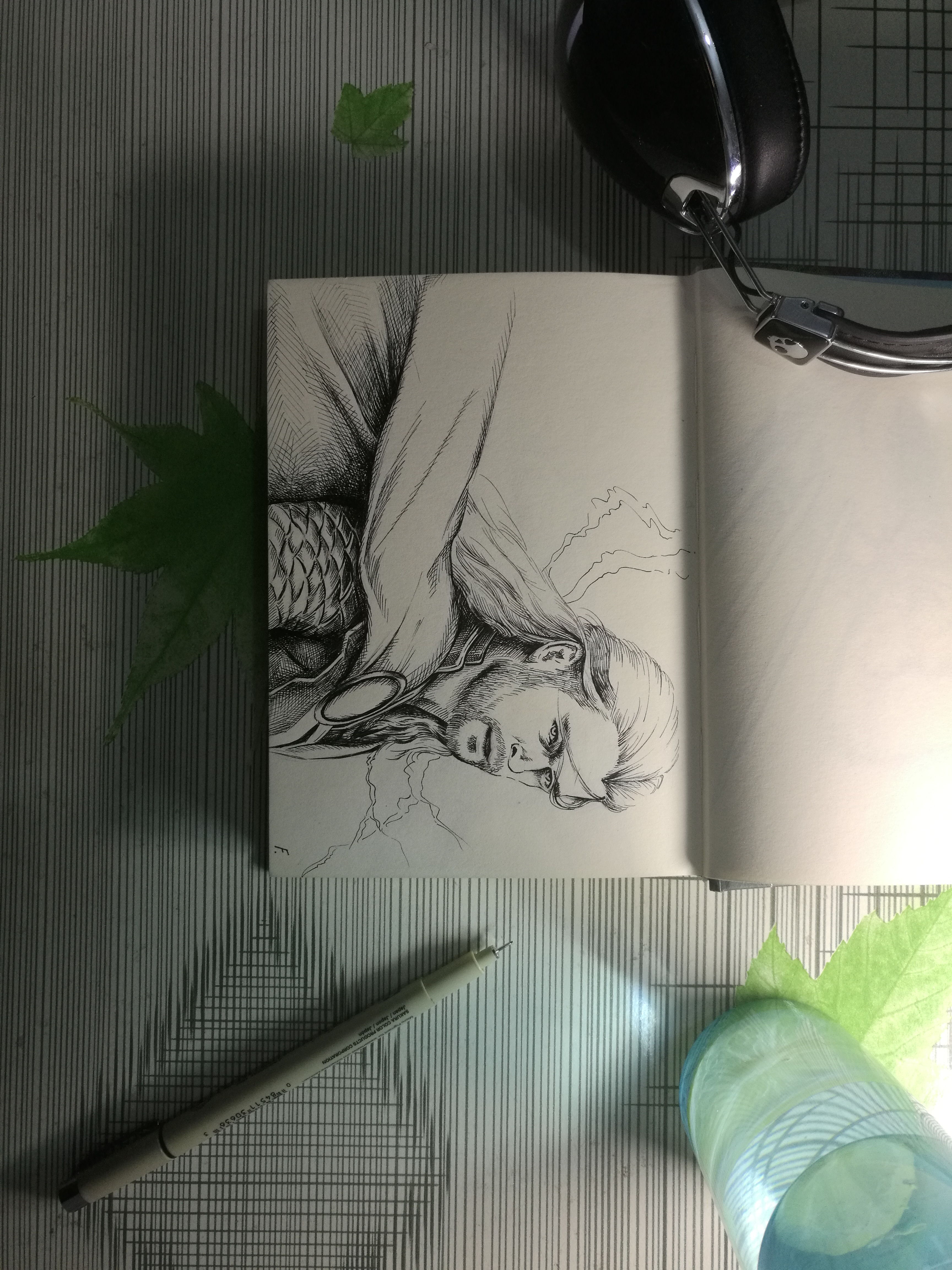 漫威人物手绘
