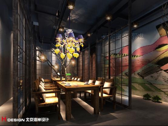 设计作品 北京朝阳大悦城漫咖啡设计案例