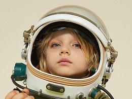 holakids儿童商业摄影 | 带你遨游太空
