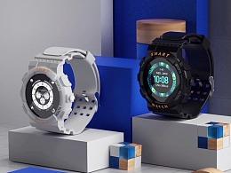 【Z19智能手表】产品视觉动画——巨人谷制作