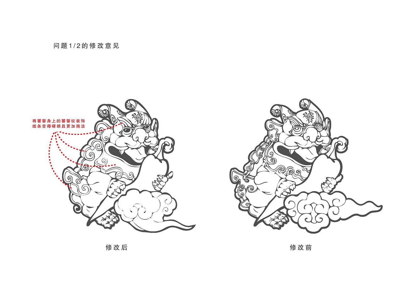 根据当地博物馆(重庆博物馆/火锅博物馆)多见的饕餮纹窗格确定了以龙