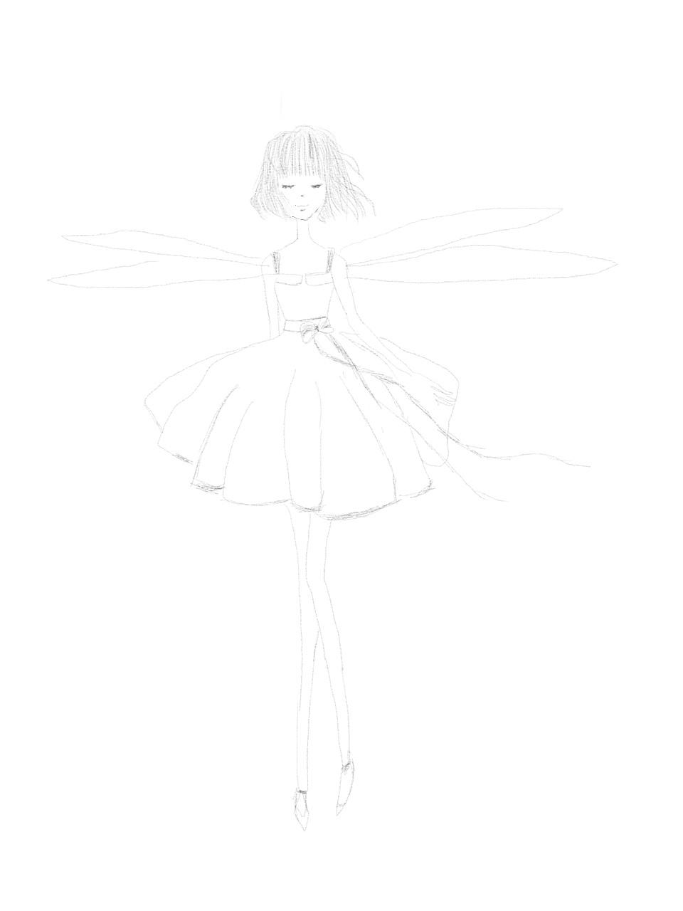 长翅膀的女孩