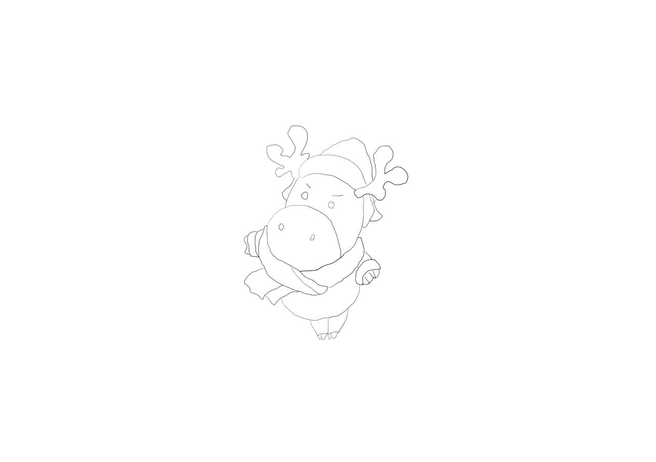 驴的简笔画怎么画
