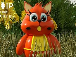 吉祥物×《遇见松鼠》手办,玩具IP,手工艺品