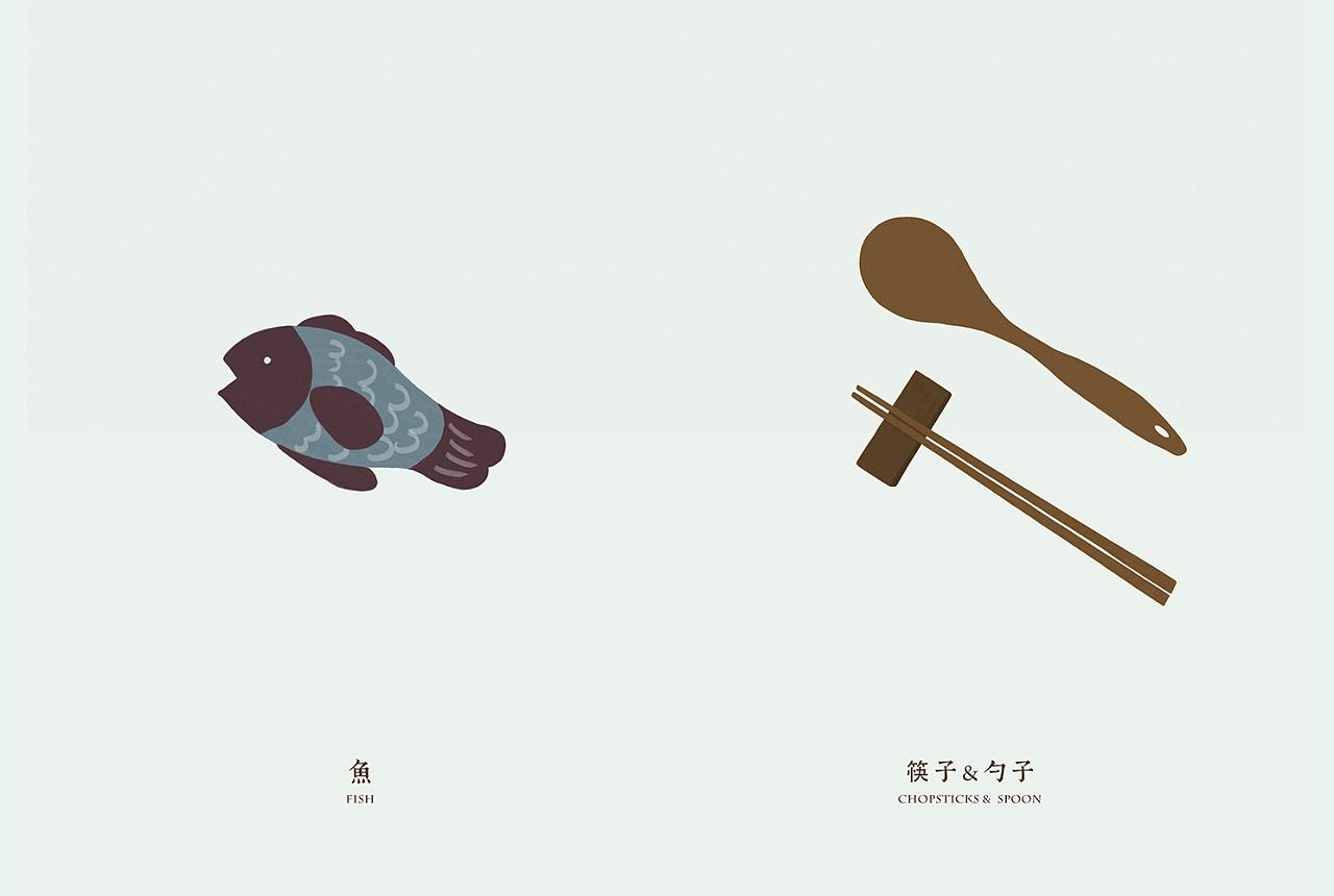 餐饮手绘综合展示|平面|图案|胖妞a - 原创作品