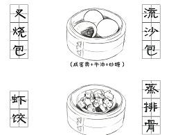 #粤式早茶菜谱#