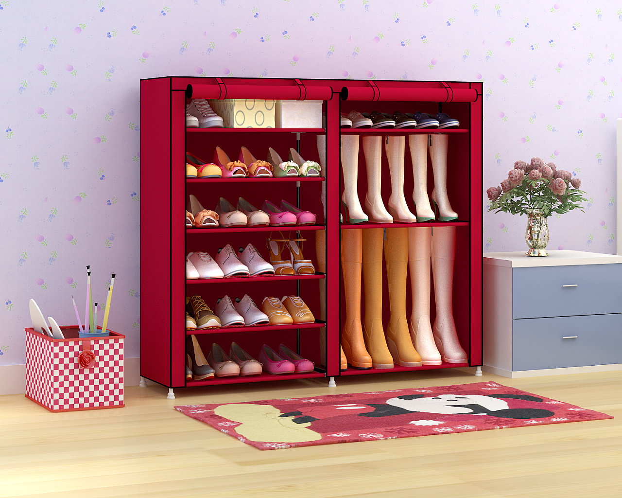 专业制作产品效果图 布衣柜鞋柜等等 请关注我哦