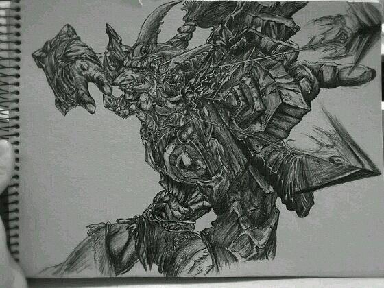 魔兽·巨魔猎手·圆珠笔