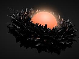 黑暗系列莲花