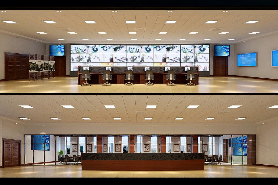 北京中煤集团调度室|室内设计|空间\/建筑|wang