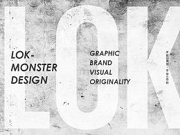 『字母小怪物』手绘稿合辑