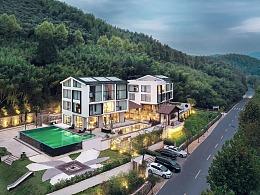 酒店建筑拍摄-莫干山璞域·近山精品度假酒店