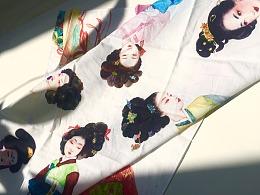 中日手帕+纸胶带设计展