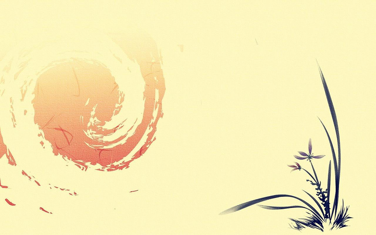 中国古风自然风景 壁纸 图案 海报背景素材 首页背景素材