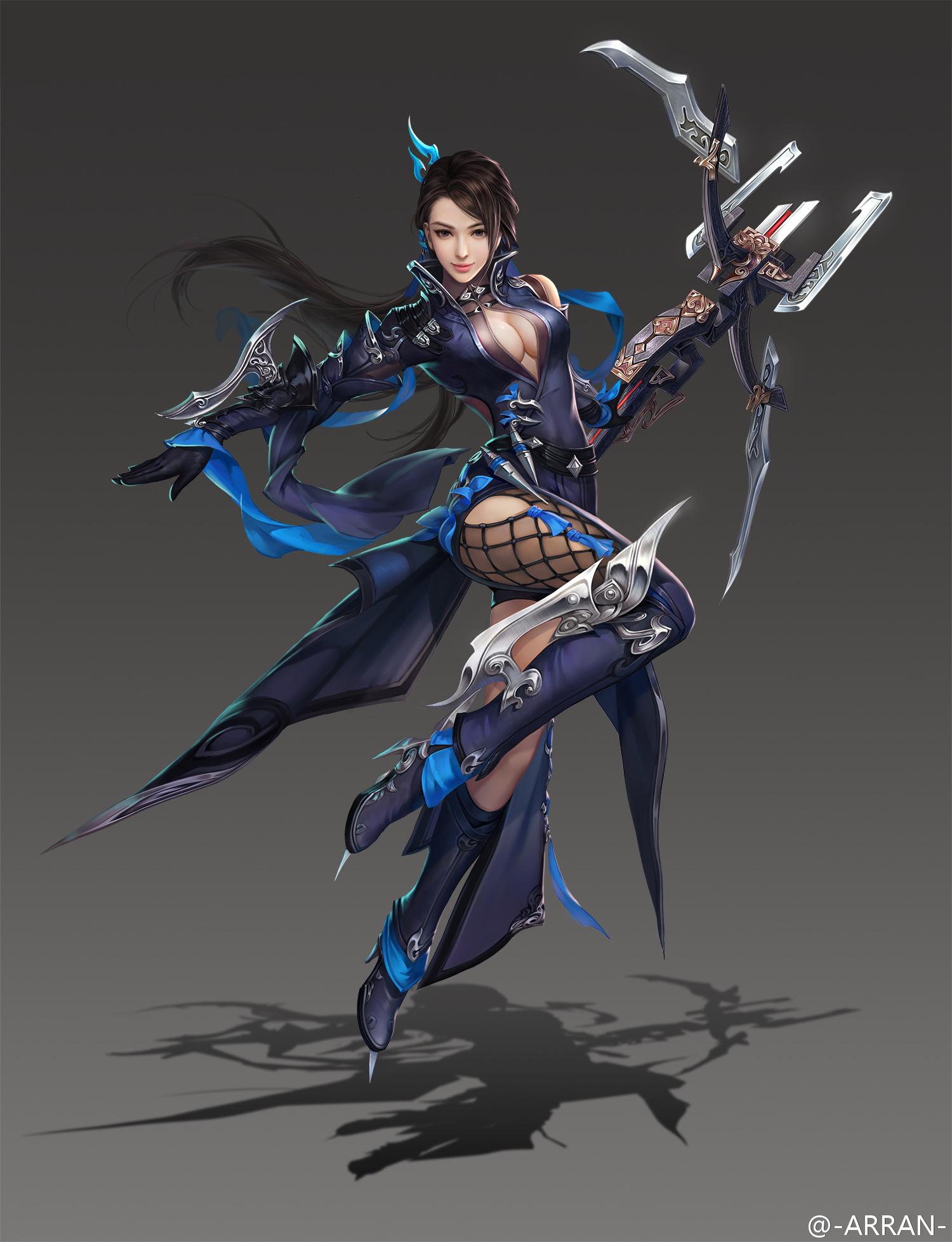剑三 唐门女