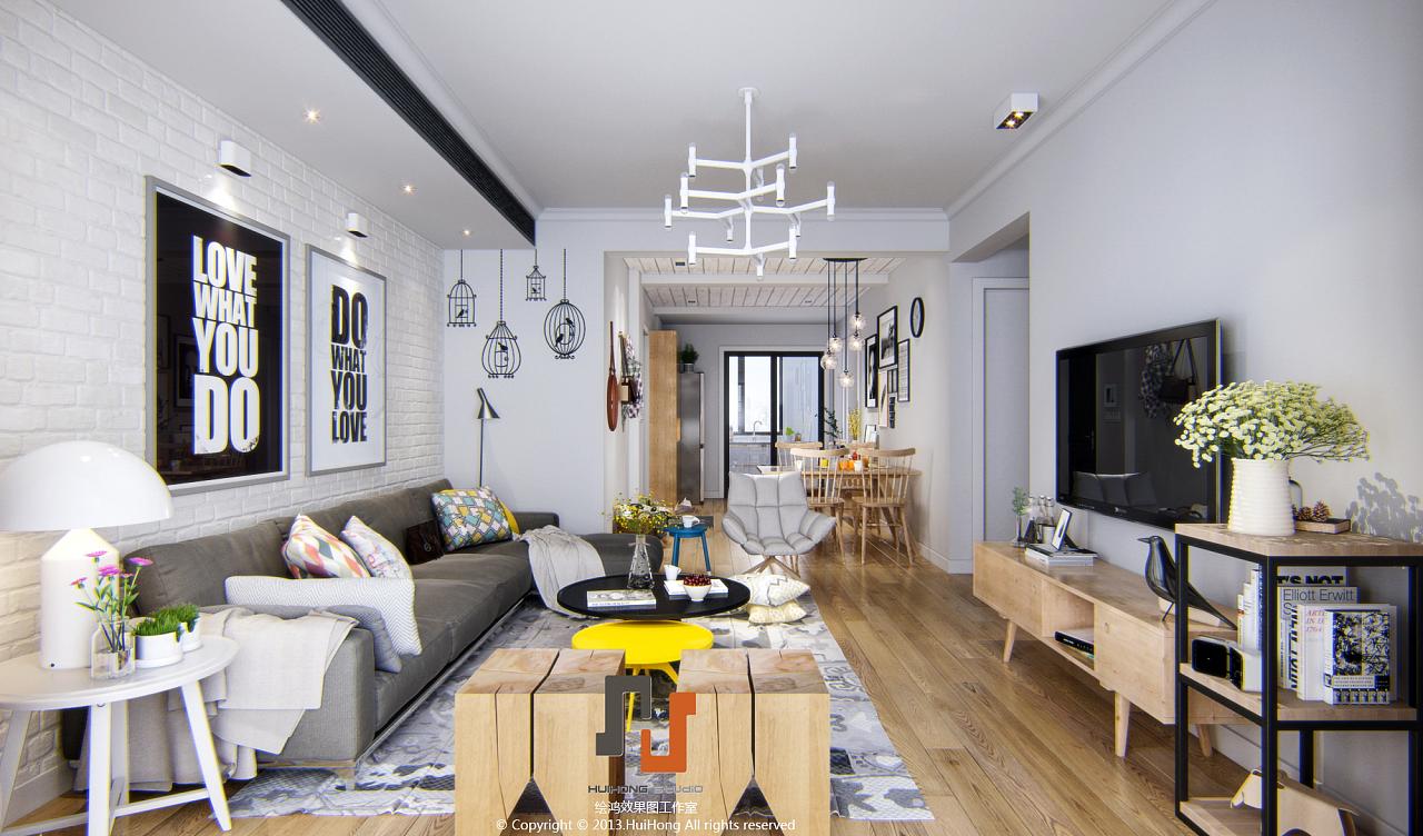 现代北欧风格|空间|室内设计|delde - 原创作品