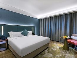 酒店建筑拍摄-杭州某漫心酒店