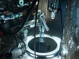 【虚幻4】 地下实验室 赛博朋克 以及制作流程解析