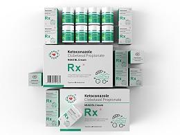 医用药膏包装设计-悟杰品牌视觉设计