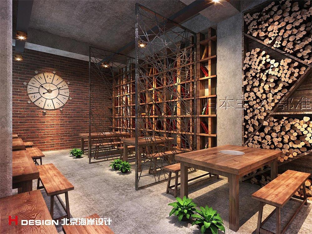 河南商丘小案例板凳设计字母|餐饮|室内设计|海岸设计英语字体空间设计图片
