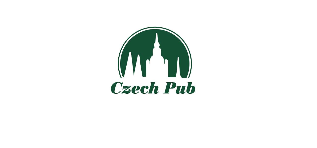 捷克餐吧logo设计 平面 标志 抓住时代的尾巴 - 原创