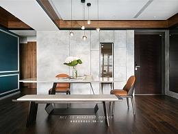 设计师将三房变4房,秒变宽敞明亮后现代主义