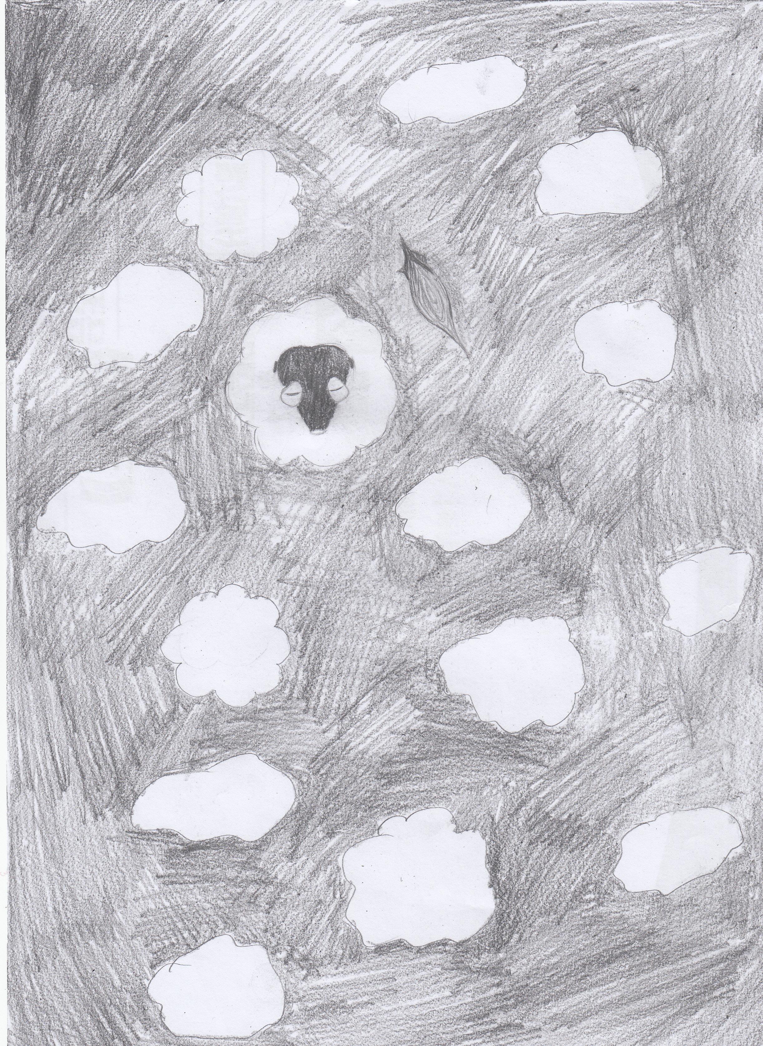 手绘云朵怎么画