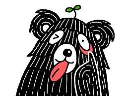 花苗苗与黑熊怪