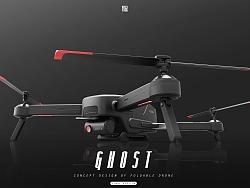 KFGZ[玩具设计]GHOST折叠航拍无人机概念设计
