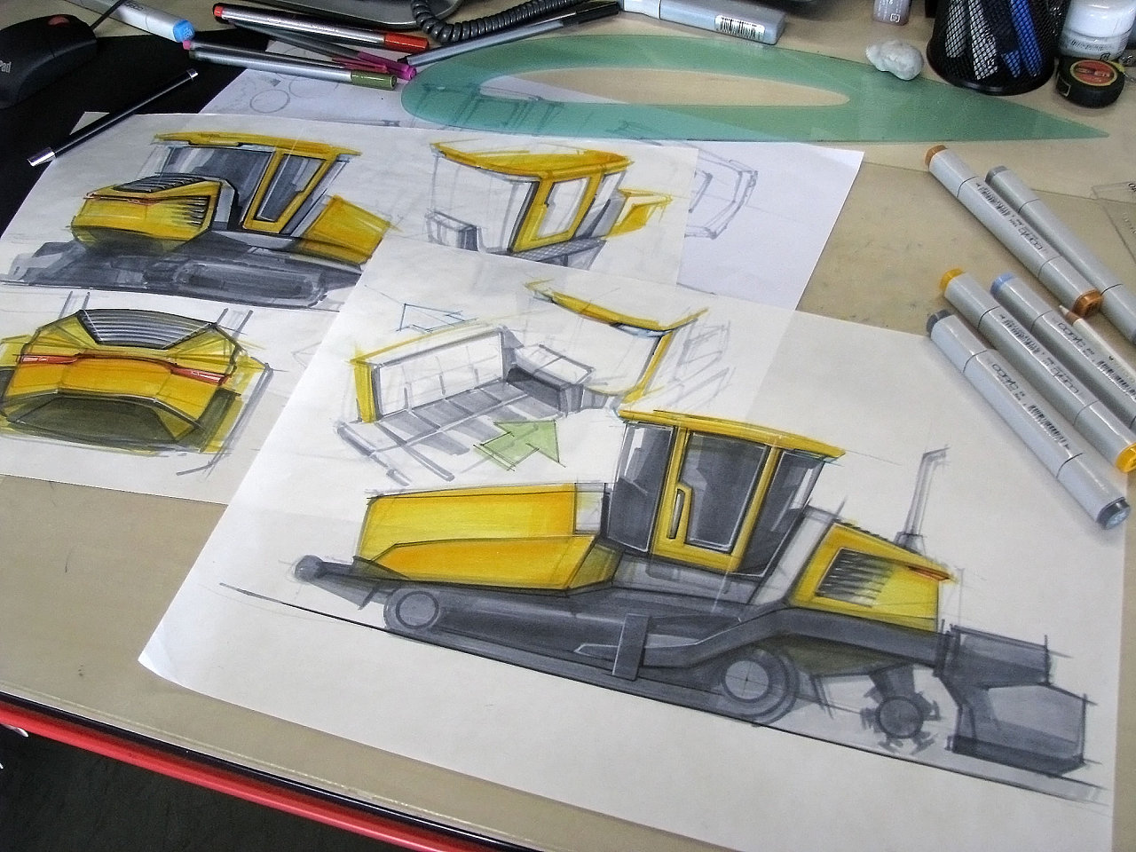 徐州工业设计中心-产品设计手绘-创意产品效果图设计
