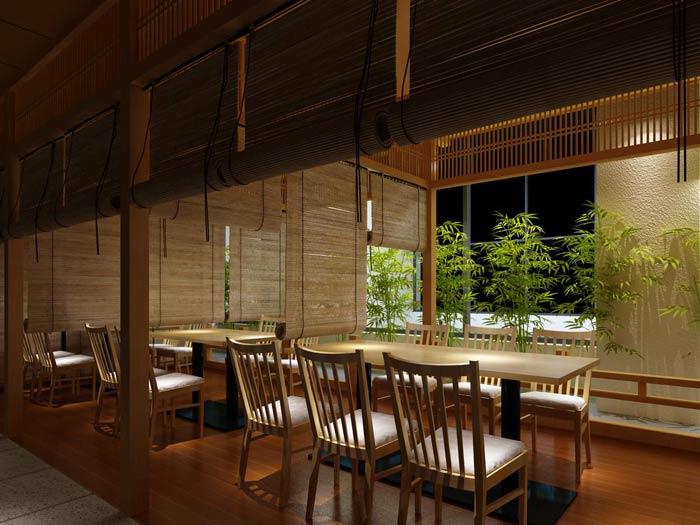 郑州日式餐厅装修设计-餐厅装修一定要突出独特的风格