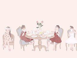 熊孩子和熊——茶会