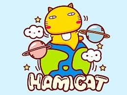 哈咪猫环游太空