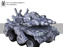 BUW-5A1对恶魔作战专用AFV