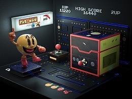安踏×吃豆人:重回8-bit街机时代,入侵街头#豆你玩儿#