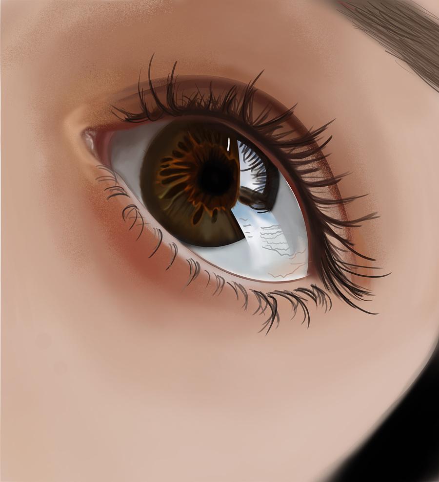 原创作品:手绘眼睛
